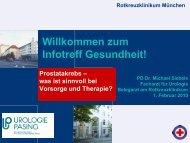 Prostatakrebs - Rotkreuzklinikum München