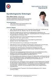 PD Dr. Martin Pölcher - Rotkreuzklinik Wertheim