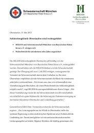 HELIOS Schlossbergklinik Oberstaufen soll künftig von der ...