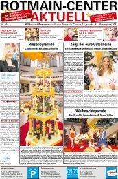 Center Zeitung - Rotmain-Center, Bayreuth
