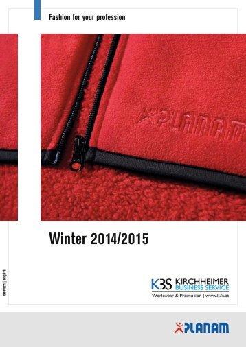 Planam Katalog Winter 2014/2015