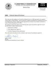 FAA Order 8120.20 - Helicopter Association International