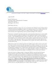 letter - Helicopter Association International