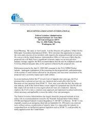 testimony - Helicopter Association International