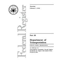 Notice of Proposed Rulemaking - Helicopter Association International