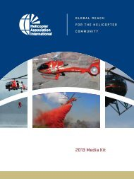 Advertise - Helicopter Association International