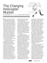 The Changing Helicopter Market