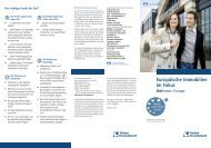 Europäische Immobilien im Fokus - Rottaler Volksbank ...