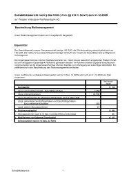 (iVm §§ 319 ff. SolvV) zum 31.12.2009 - Rottaler Volksbank ...