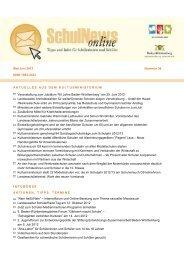 SchulNews online Nr. 36, Mai/Juni 2012 (PDF) - Rotteck-Gymnasium