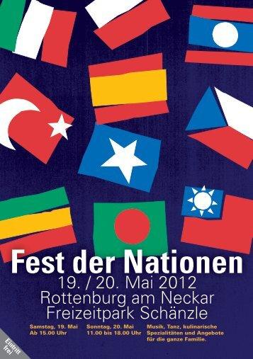 Fest der Nationen - Stadt Rottenburg am Neckar