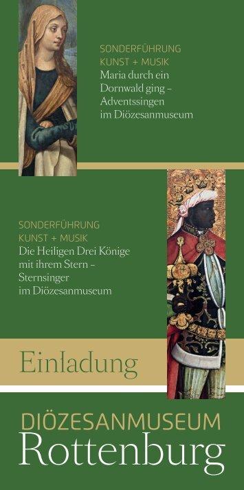 Flyer Weihnachts- und Dreikönigssingen - Stadt Rottenburg am ...