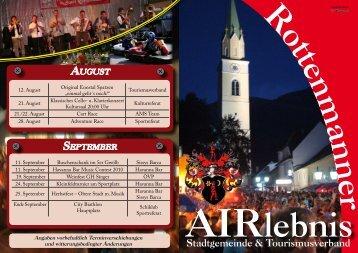 Stadtgemeinde & Tourismusverband - Rottenmann