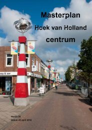Masterplan Centrum Hoek van Holland - Gemeente Rotterdam