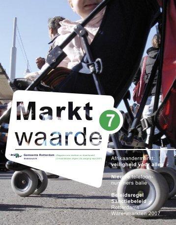 Nieuwe markt - Gemeente Rotterdam