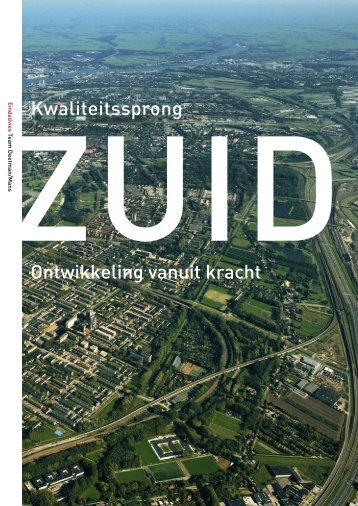 Kwaliteitssprong Zuid: ontwikkeling vanuit kracht - Rijksoverheid.nl