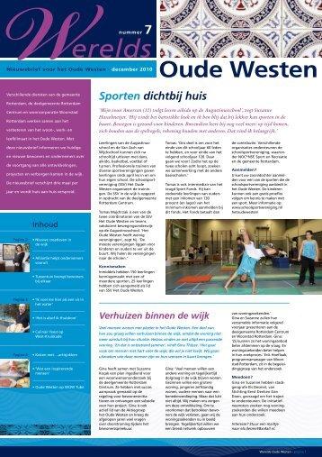 [PDF] Sporten dichtbij huis - Gemeente Rotterdam