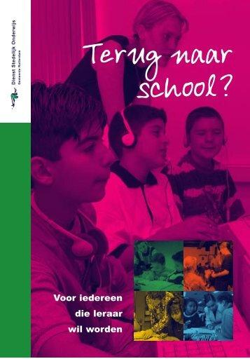 [PDF] folder Leraren - Gemeente Rotterdam