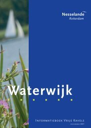 [PDF] Nesselande - Gemeente Rotterdam