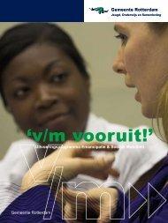 'v/m vooruit!' - Gemeente Rotterdam