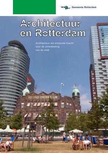 Architectuur als drijvende kracht voor de ontwikkeling van de stad