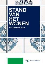 [pdf] standvanhetwonen - Gemeente Rotterdam