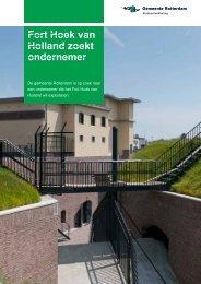 Fort Hoek van Holland zoekt ondernemer - Gemeente Rotterdam