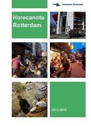 Horecanota 2012 - Gemeente Rotterdam