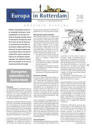 [PDF] Europese subsidies in Rotterdam - Gemeente Rotterdam