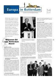 [PDF] Miljoenen EU voor Rotterdam Noord - Gemeente Rotterdam