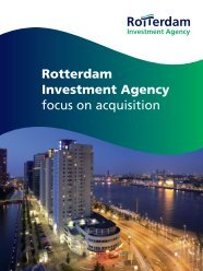 Rotterdam Investment Agency focus on acquisition
