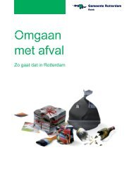 [PDF] Omgaan met afval - Gemeente Rotterdam