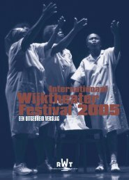 Festivalverslag 2005Nederlands.pdf - Rotterdams Wijktheater