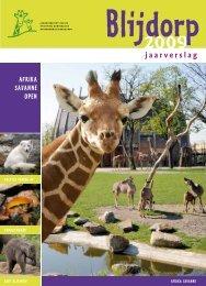jaarverslag 2009 - Diergaarde Blijdorp