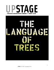 The Language of Trees - Roundabout Theatre Company