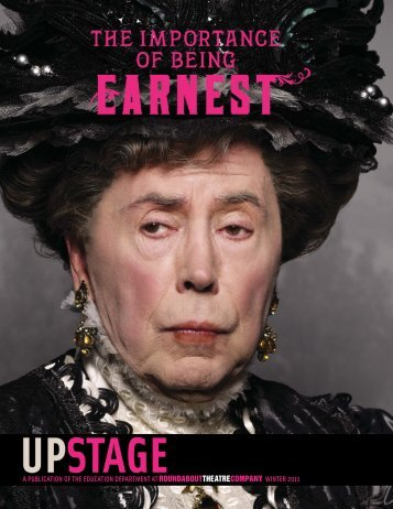 The Importance of Being Earnest - Roundabout Theatre Company