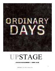 Ordinary Days - Roundabout Theatre Company