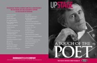 a touch of the poet - Roundabout Theatre Company