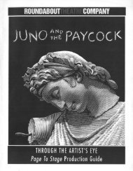 Juno and the Paycock - Roundabout Theatre Company