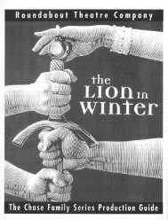 The Lion in Winter - Roundabout Theatre Company