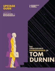 UPSTAGE GUIDE - Roundabout Theatre Company