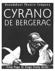 Cyrano de Bergerac - Roundabout Theatre Company