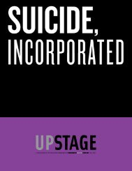 Suicide Incorporated - Roundabout Theatre Company