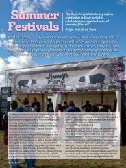 Summer Festivals - Round & About Magazine