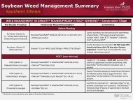Corn Weed Management Summary Tennessee, Arkansas, Missouri ...