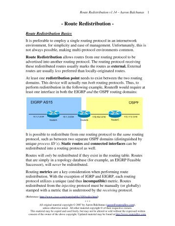 Advanced Ospf Lab Router Alley
