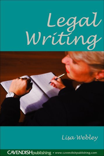 Legal Writing - Law