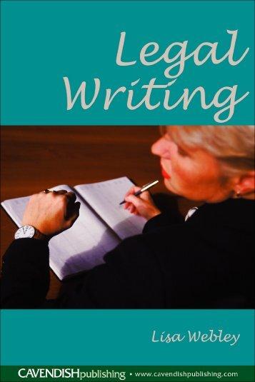legal writing help