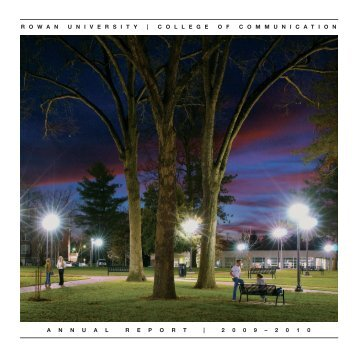 Annual Report 2009-2010 - Rowan University