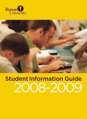 2008-2009 - Rowan University